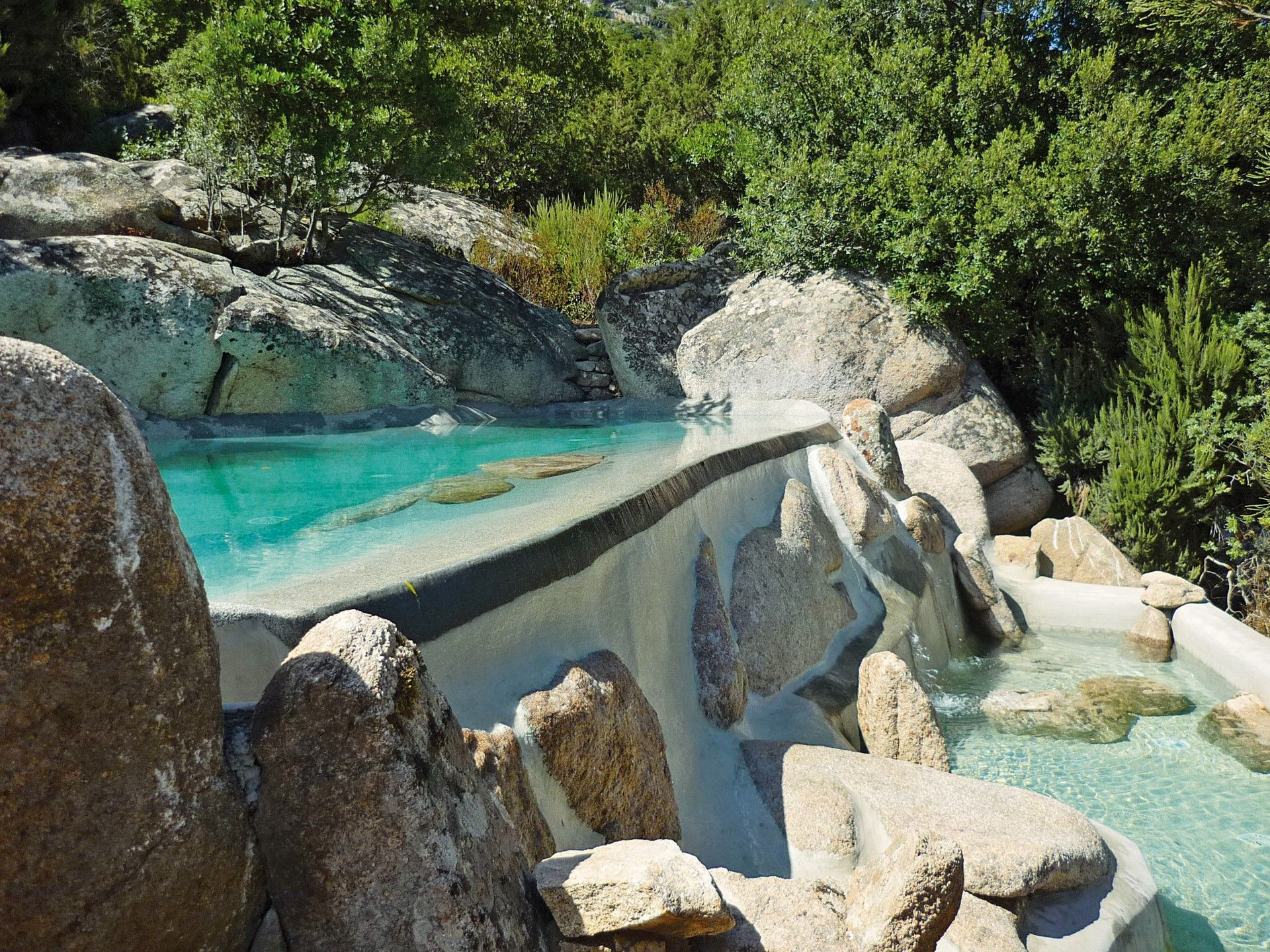 Piscinas de arena naturales en madrid