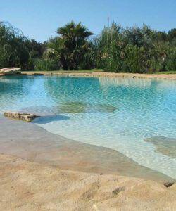 piscinas de arena compactada